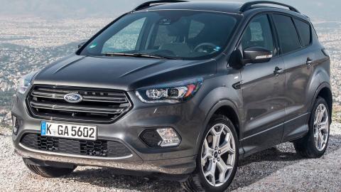 Rivales Nissan Qashqai: Ford Kuga (II)