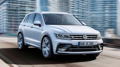 Rivales Nissan Qashqai: Volkswagen Tiguan (II)
