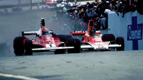 La rivalidad entre Niki Lauda y James Hunt