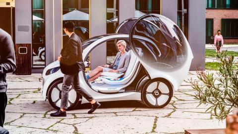 Smart Vision EQ Fortwo Concept (II)