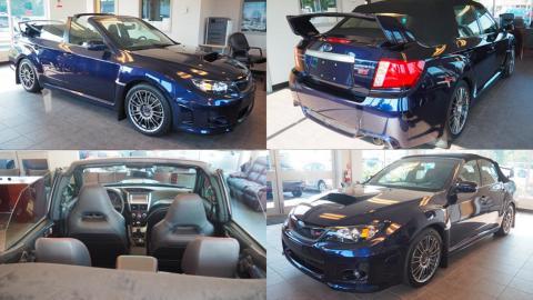 Subaru Impreza STI descapotable cabriolet sedán