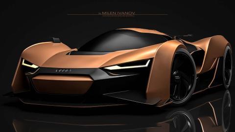 Superdeportivo de Audi de Milen Ivanov