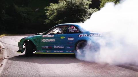Vídeo: Drifting en una carretera con un Nissan de más de 1.000 CV
