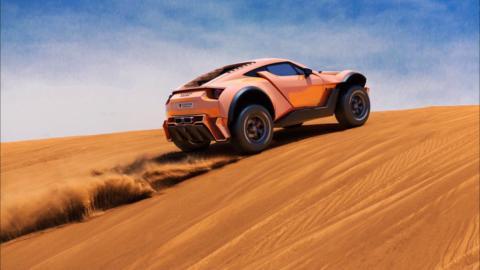 Zarooq SandRacer 500 GT, el rey del desierto