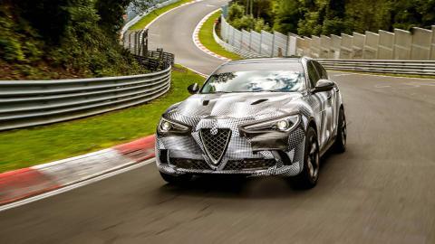 Alfa Romeo Stelvio Quadrifoglio en Nürburgring