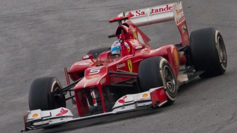 Alonso won Malaysian GP 2012