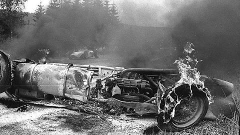 Bristow accident Spa 1960