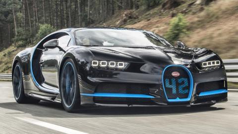 El Bugatti Chiron es el coche más rápido en el 0-400-0