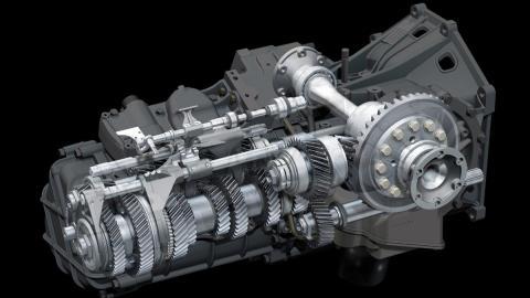 F1 gear box