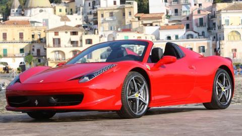 Ferrari 458 Spider, como el de Jeremy