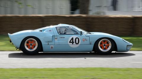 Ford GT40 Gulf en Goodwood Festival