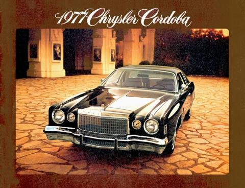 Chrysler Cordoba 1977 catálogo