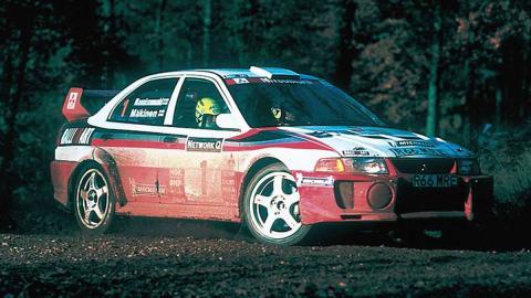 Grupo A: Mitsubishi Lancer Evo (II)