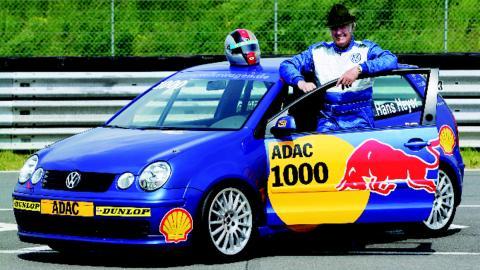 Hans Heyer, un pillín de la F1