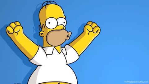 Homer feliz