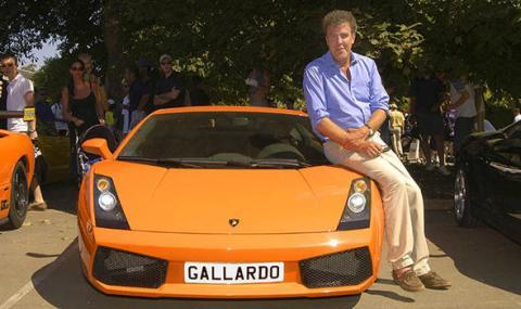 Jeremy Clarkson y un Lambo Spyder