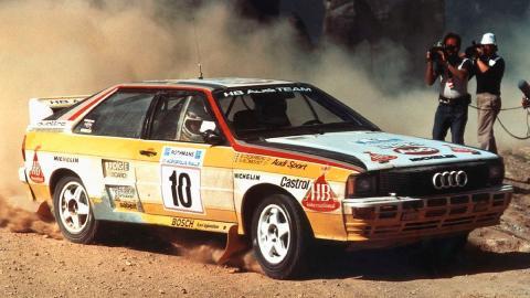 Los mejores Grupo B de la Historia: Audi Quattro A1(I)