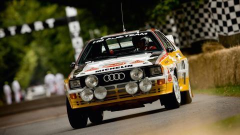 Los mejores Grupo B de la Historia: Audi Quattro A1(II)
