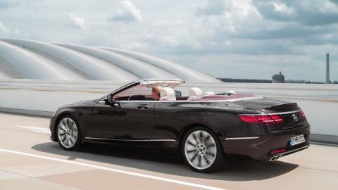 Mercedes Clase S Cabriolet 2018 descapotable lujo