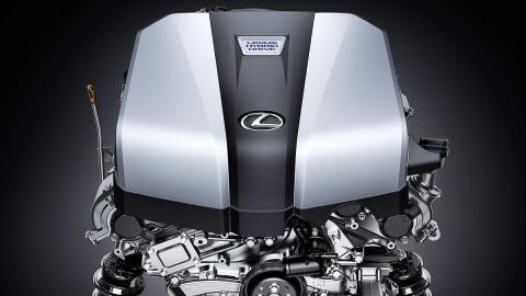 Motor Lexus híbrido