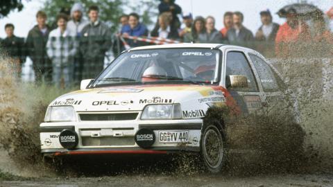 Opel Kadett GSi competición