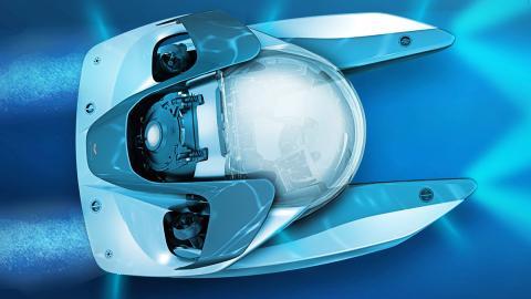 Project Neptune, el submarino de Aston Martin