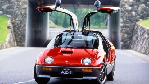 Puertas de coche: Autozam AZ 1 (I)
