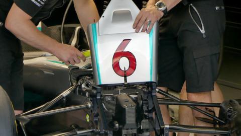 Sistema hidráulico F1