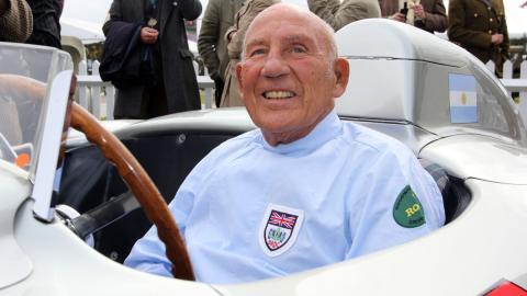 Stirling Moss cumple 88 palos