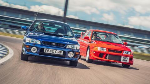 Subaru Impreza vs. Mitsubishi Evo