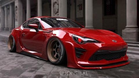 Toyota GT86 de Jon Sibal preparacion