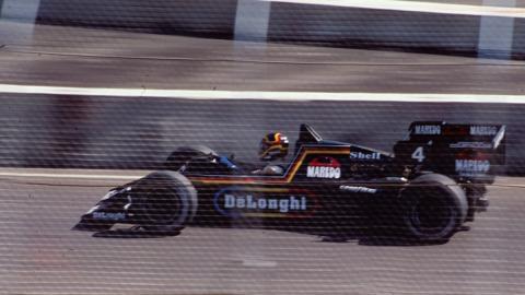 El Tyrrell 012 excluido en 1984