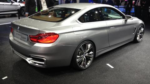 BMW Serie 4 Coupé, uno de los rivales del Mustang