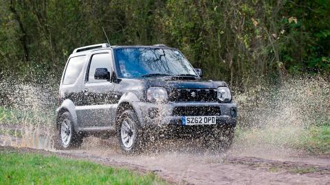 Caprichos sobre ruedas a precio asequible: Suzuki Jimny (II)