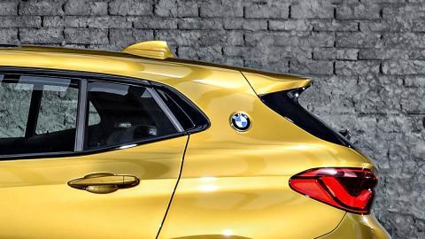 Curva Hofmeister BMW X2 suv compacto