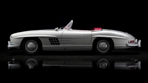 Descapotables clásicos: Mercedes 300 SL R (II)
