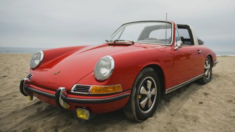 Descapotables clásicos: Porsche 911 Targa (II)