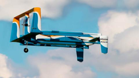 Drones de Amazon PrimeAir futuro coches eléctricos