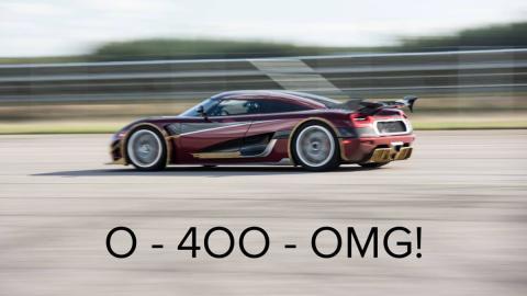 Koenigsegg récord 0-400-0 agera rs deportivo