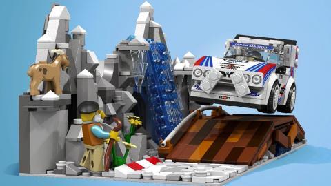 Lancia Delta S4 Grupo B de Lego
