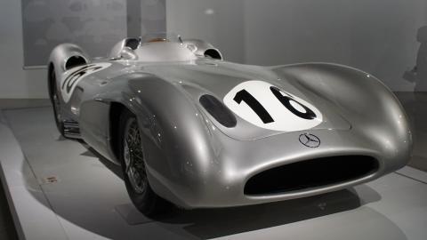 Mercedes W196 R de Fórmula 1 o Streamleaner