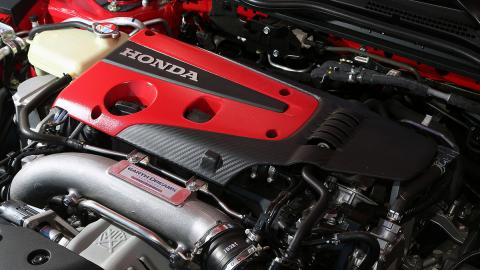 Motor del Honda Civic Type R 2017