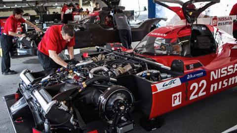 Nissan GT-R 2018 - el motor