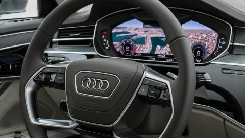 Prueba Audi A8 2017 (cuadro)