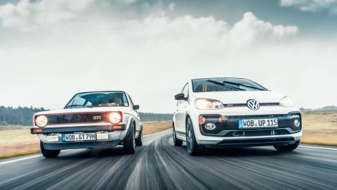 Volkswagen up! GTI vs Golf GTI