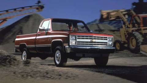 1987 - Chevrolet Silverado