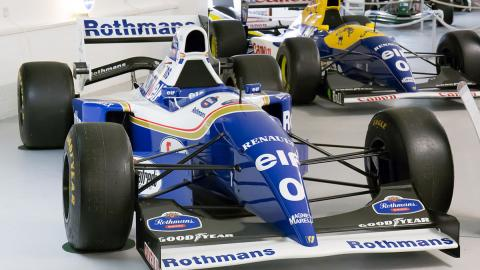 Ambos 0 en los Williams_FW16B_and_FW15C_
