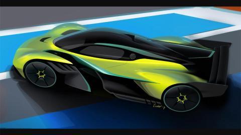 Aston Martin Valkyrie AMR Pro deportivo circuito hiperdeportivo