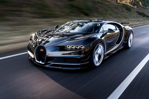 Bugatti Chiron, de Cristiano Ronaldo