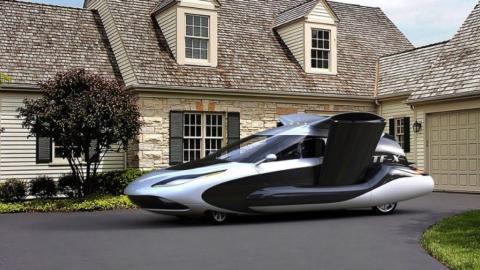 Coche volador de Volvo